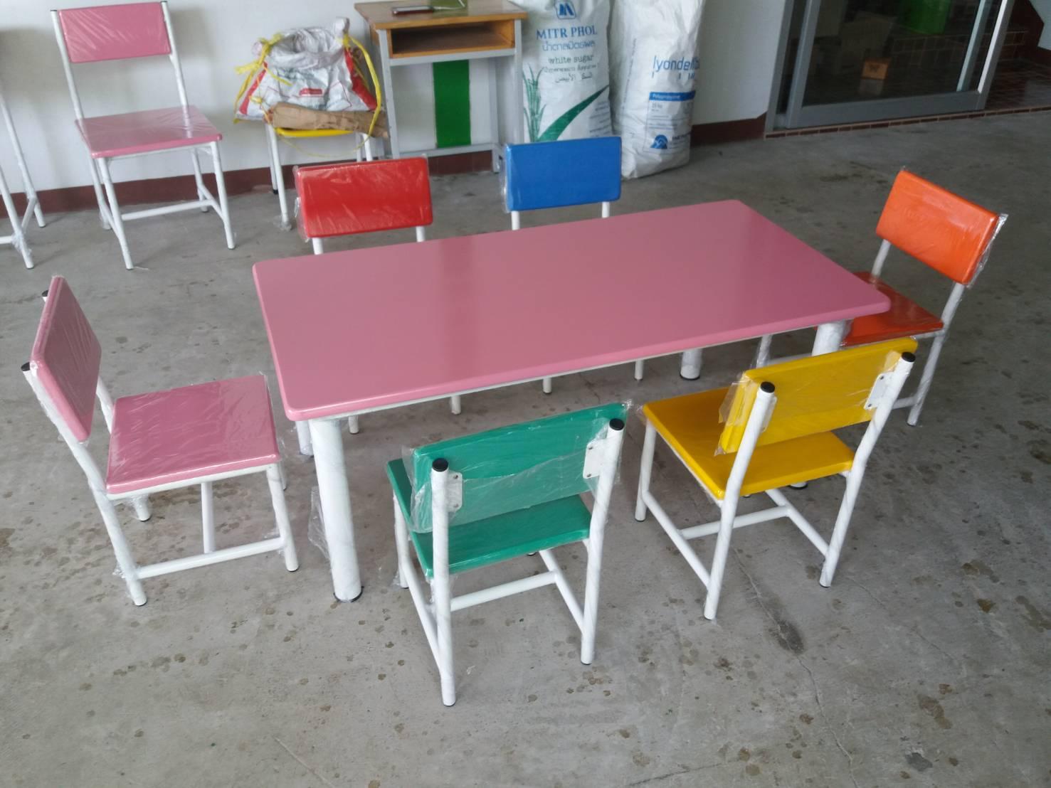 ชุดโต๊ะกลุ่มอนุบาล แฟนซี