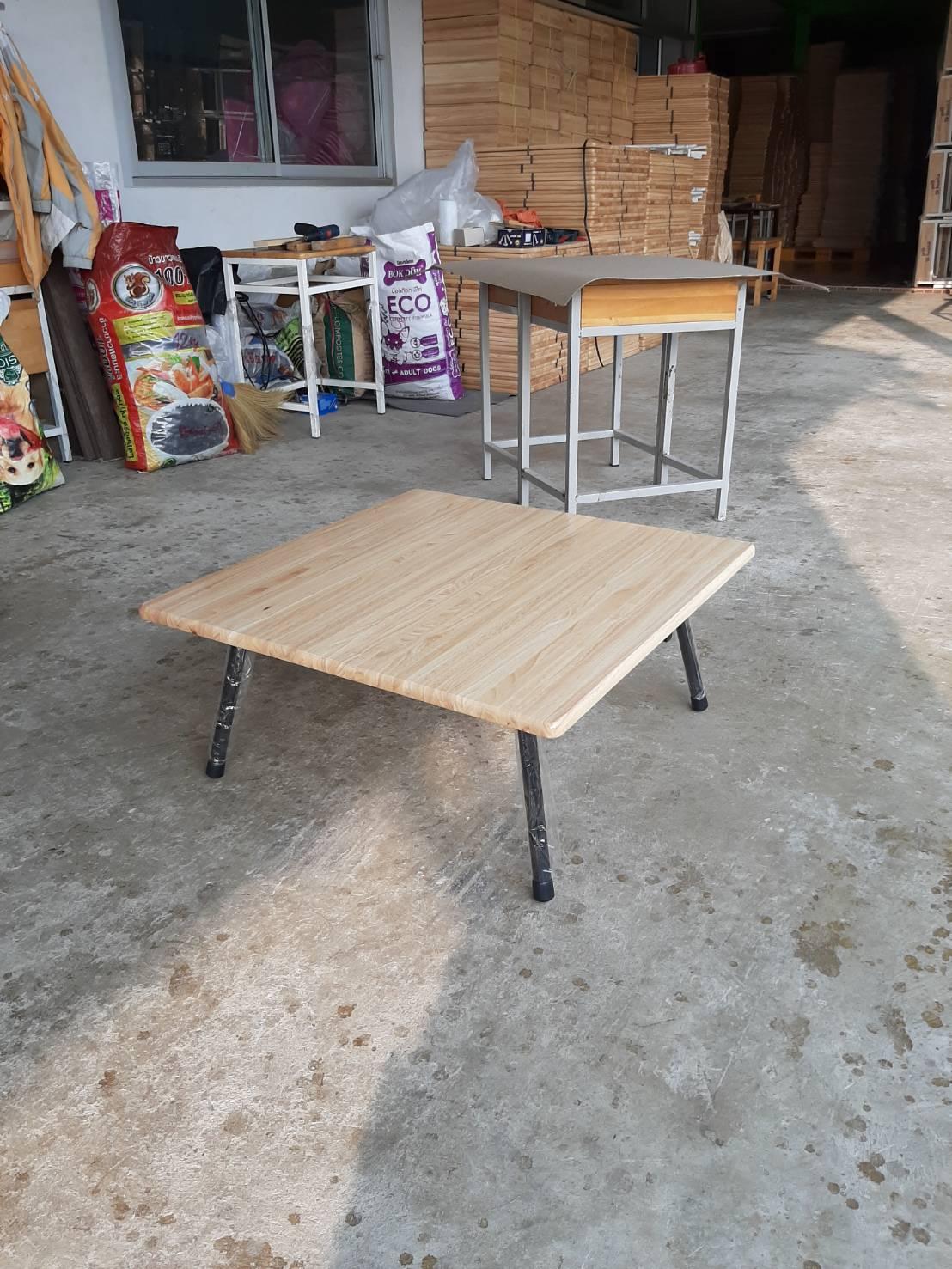 โต๊ะญี่ปุ่น หน้าไม้ยางพารา